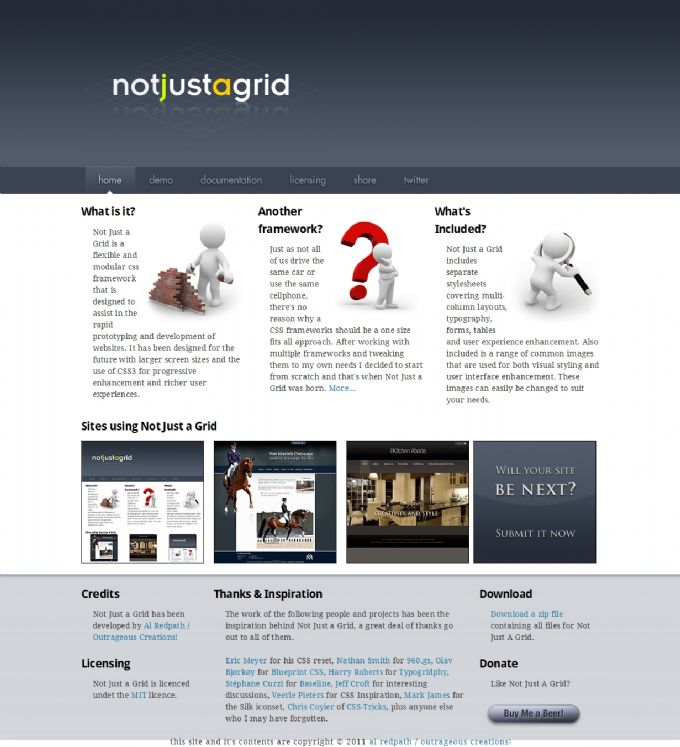 Not Just a Grid Web Design Toronto Area Web and Graphic
