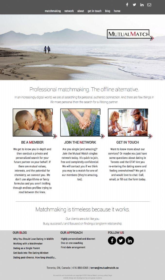 Mutual dating website