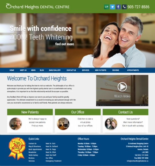 Orchard Heights Dental Centre - Aurora Based Dental Office