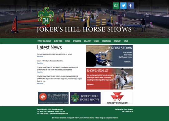 Jokers Hill Horse Shows