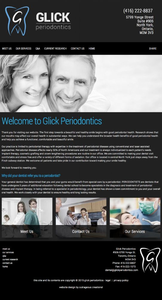 Glick Periodontics, North Toronto Dentists