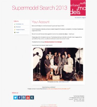 Sutherland Supermodel Search 2013